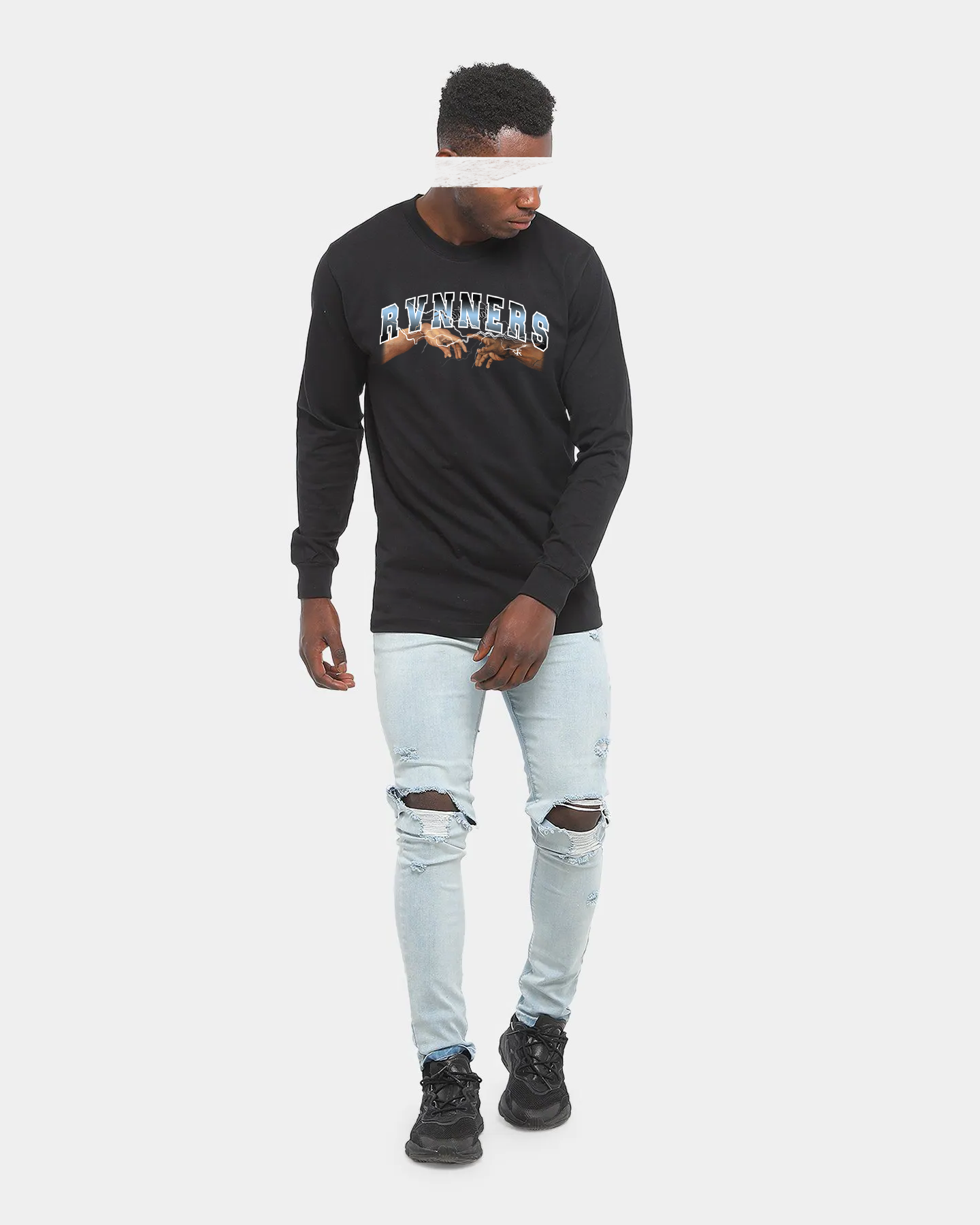 Rvnners Blue Long Sleeve Full Body