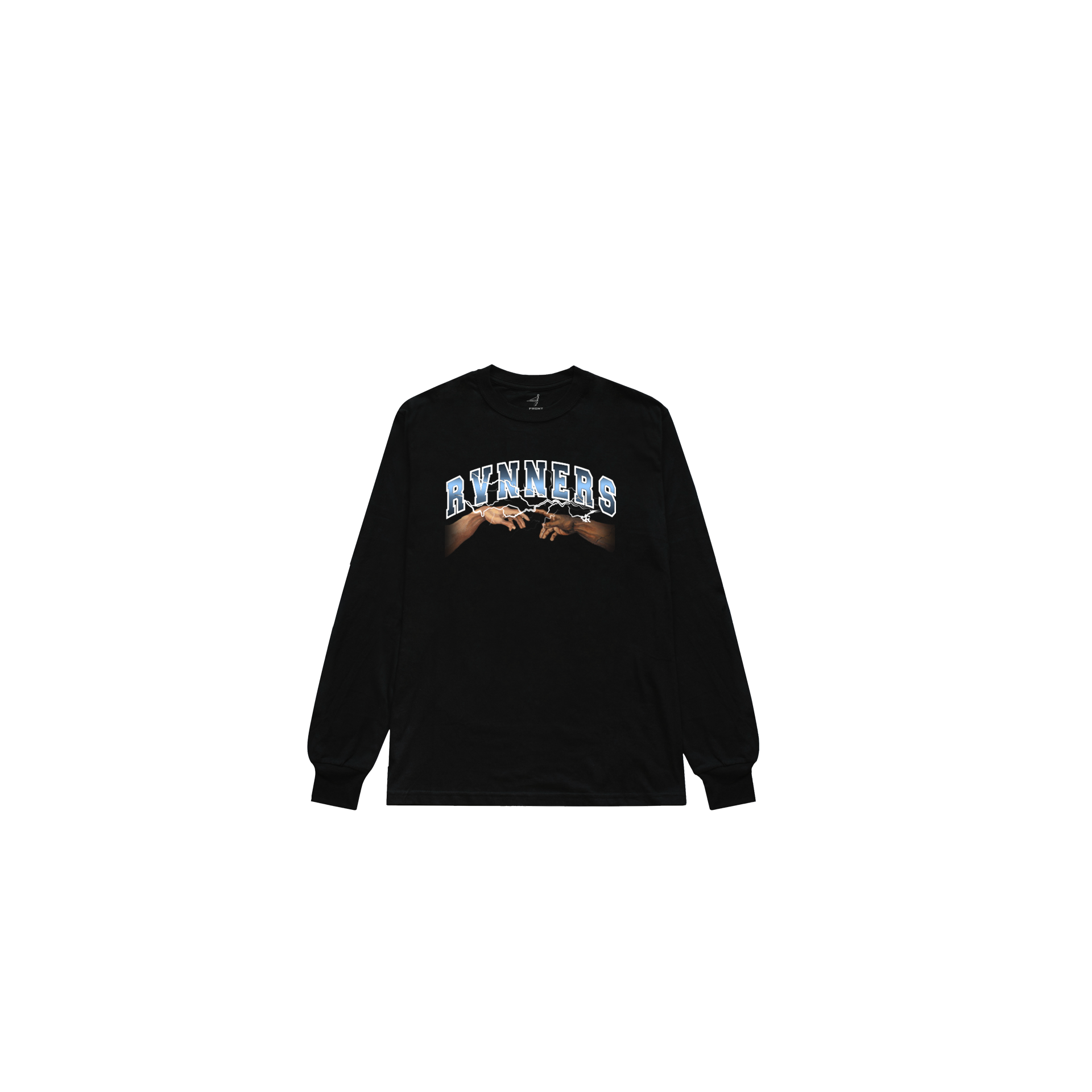 Rvnners Blue Long Sleeve Front