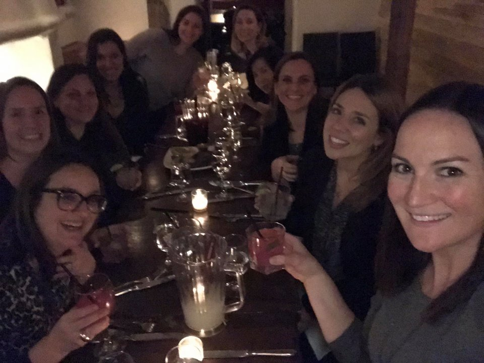 The 2018 board dinner of the WJA New York Metro chapter sans yours truly (I was home on hospice duty)inner of the WJA New York Metro chapter sans myself (I was home on hospice duty)