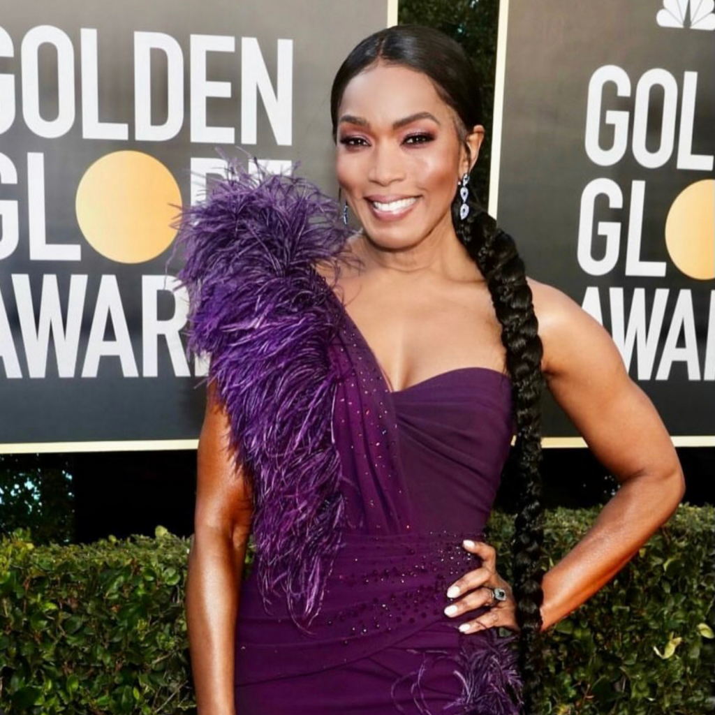 Angela Bassett in Graziela Gems. Bassett was a presenter this year. Source: @grazielagems
