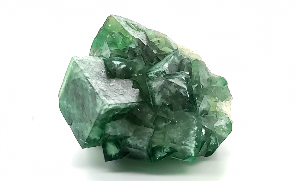 Fluorite is one of the gem specimens available in the LuxeRox subscription service.