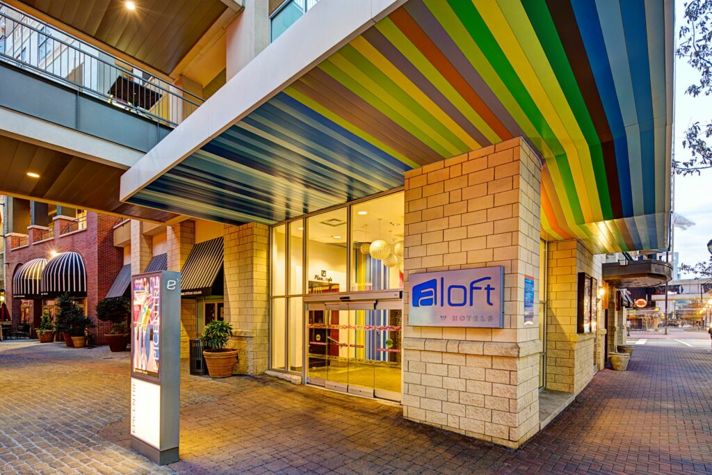 Aloft Charlotte Uptown at the Epicenter