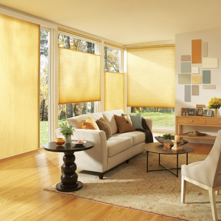 Call Blind Magic for Honeycomb Cellular Shades from Hunter Douglas in North Highlands, CA