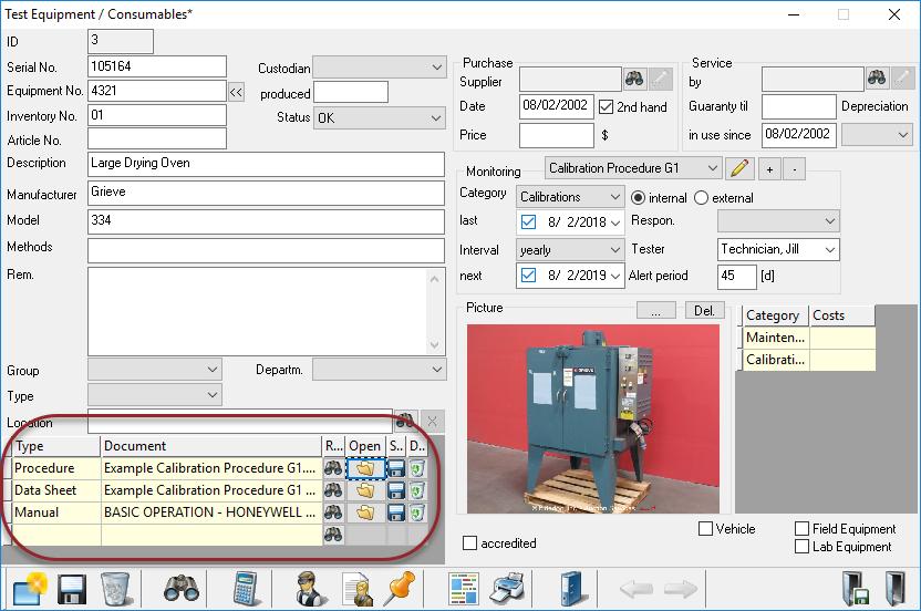 Construction Materials Testing Document Vault Equipment_Workflow