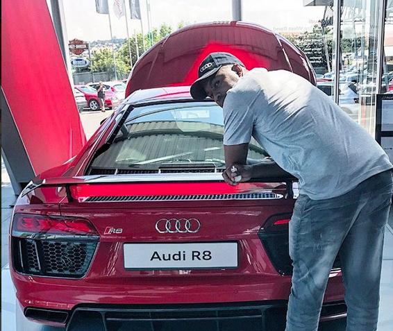 Khune's Audi R8