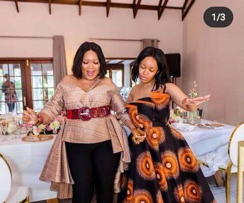 Kgomotso Moeketsi Goes Down Memory Lane To Her Daughter Dineo's Wedding Day