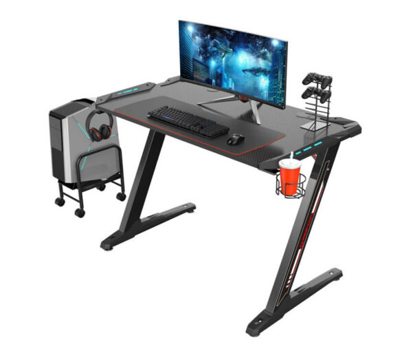 Eureka Ergonomic Z1-S Gaming Desk for Console & PC Gamers Review