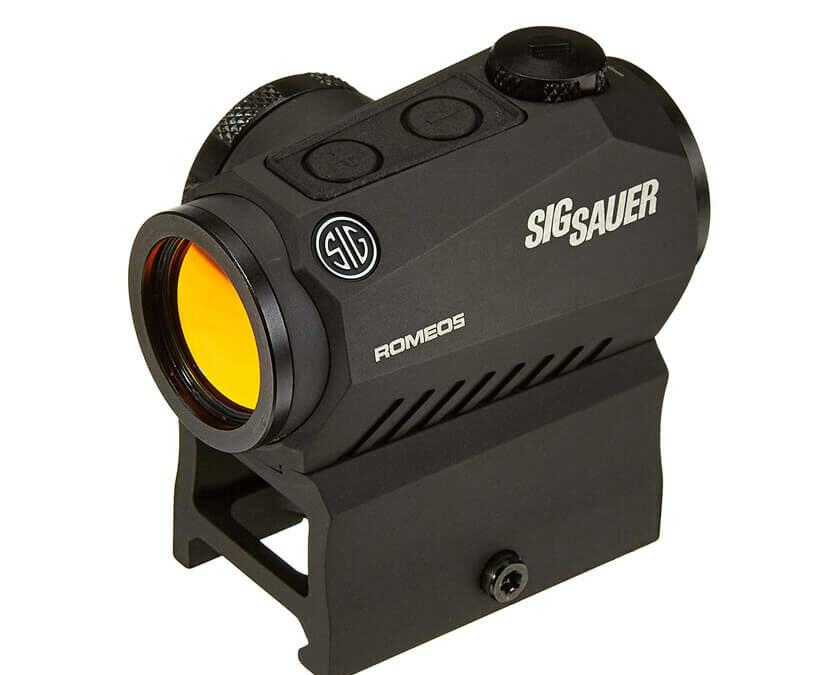 Sig Sauer Romeo5 1x20mm Compact 2 Moa Red Dot Sight SOR52001 Review