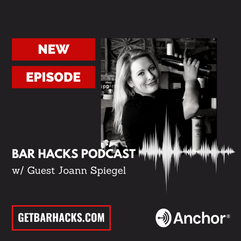 Bar Hacks Podcast Template, Joann