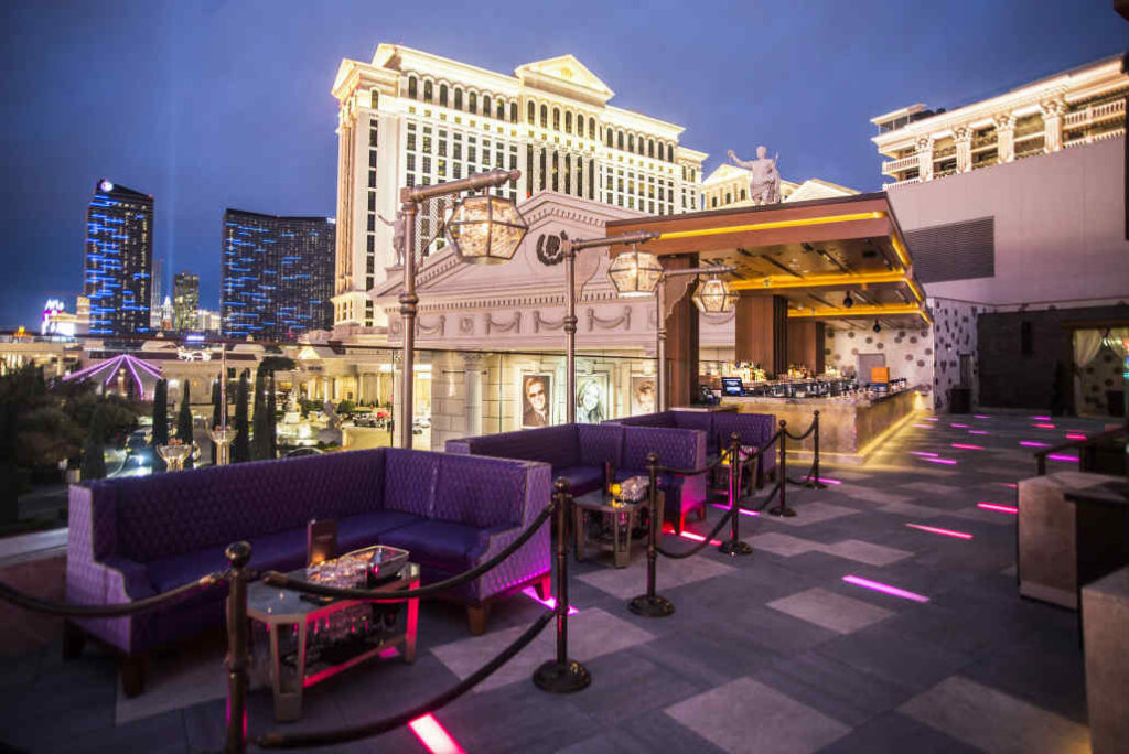 OMNIA Nightclub Las Vegas Terrace