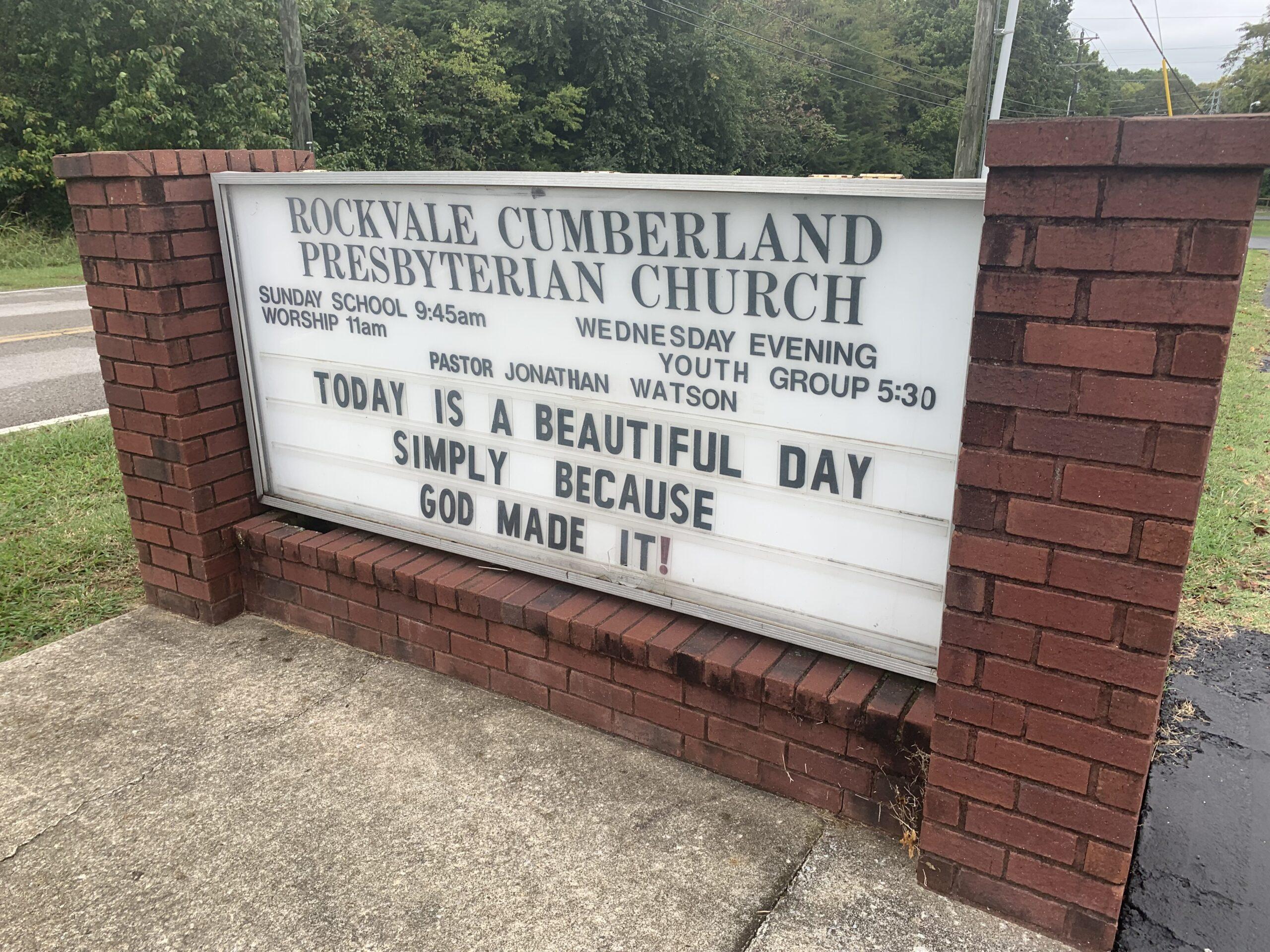 Church Sign Sermon