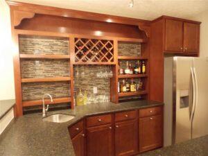 Basement Bar with Kitchen