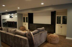 Basement Projector Room