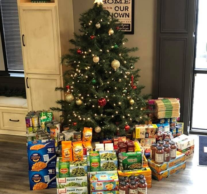 CMH Builders Collects Food Items for Mary Lee Maier Community Pantry