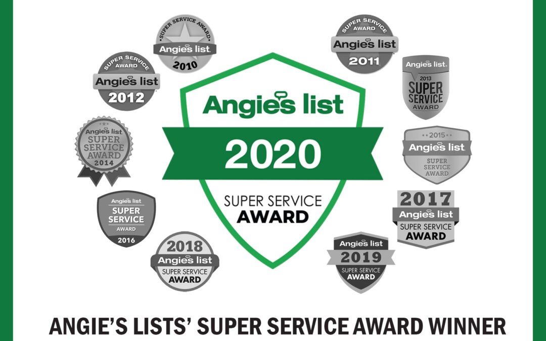 CMH Builders Earns 10th Consecutive Angie's List Super Service Award