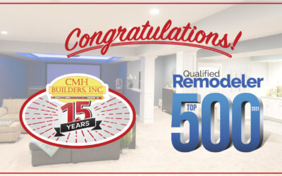 CMH BUILDERS NAMED TO QUALIFIED REMODELER TOP 500