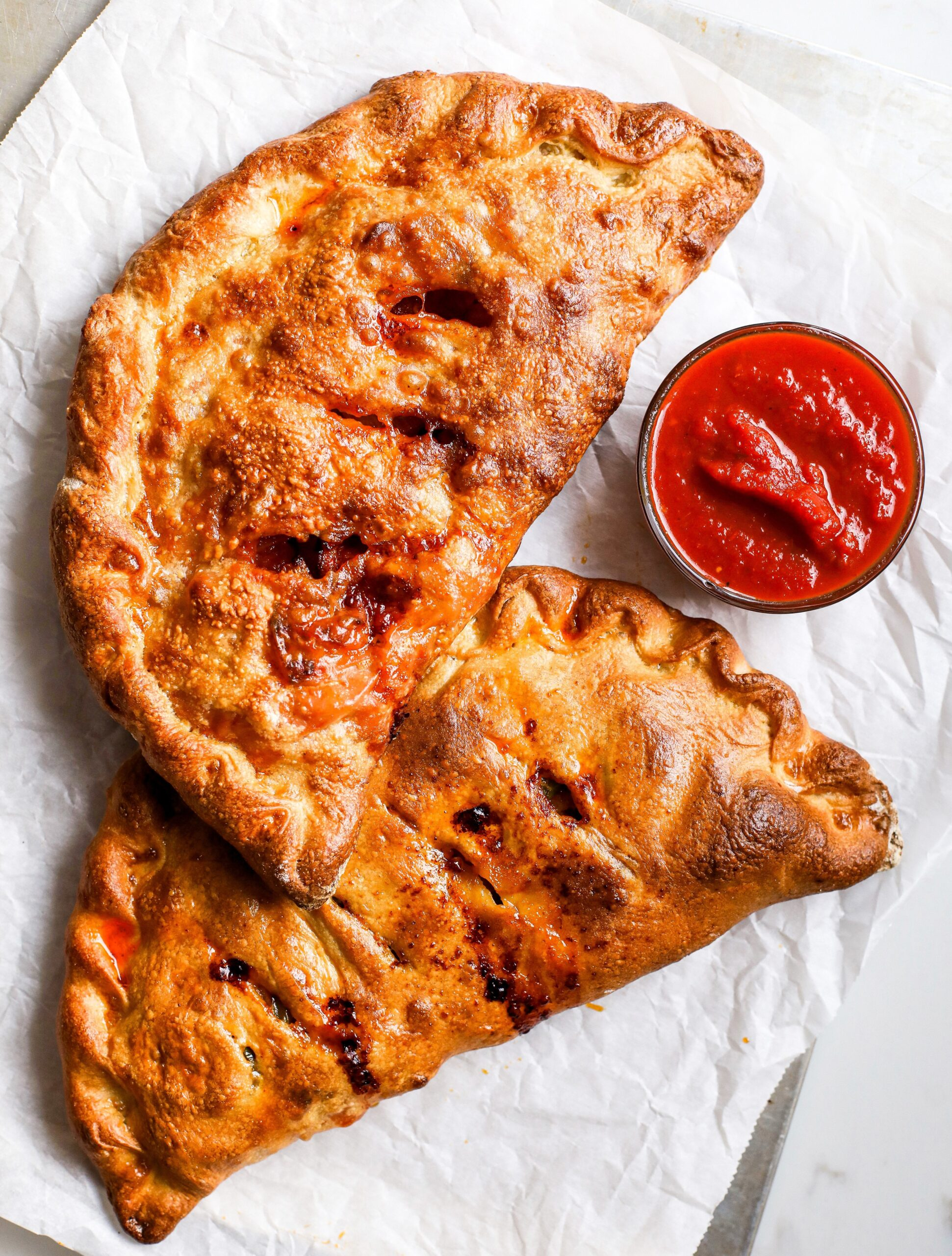 Pepperoni Calzones