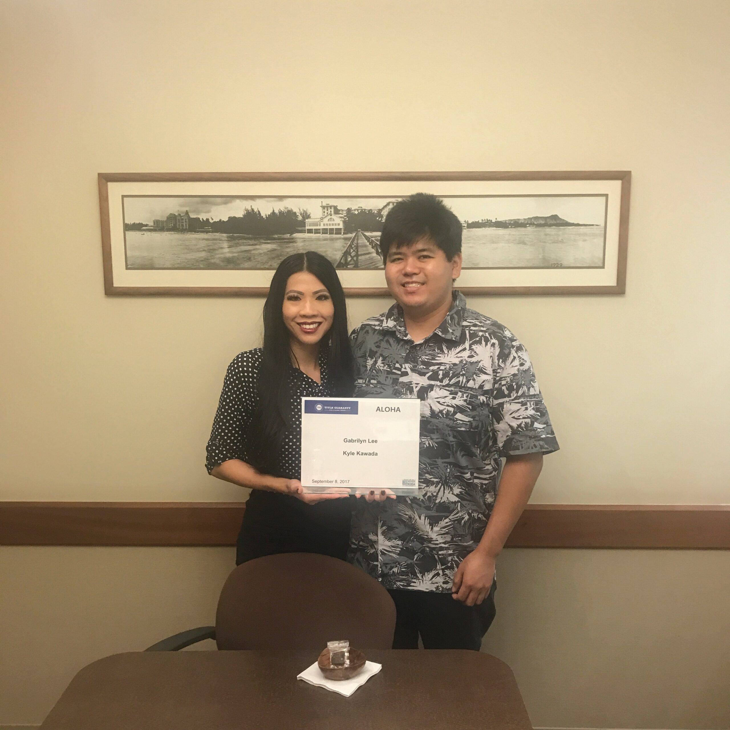 Escrow Signing Title Guranty with Gabrilyn Lee, Realtor-Associate