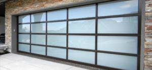 Aluminum Glass Garage Door Design
