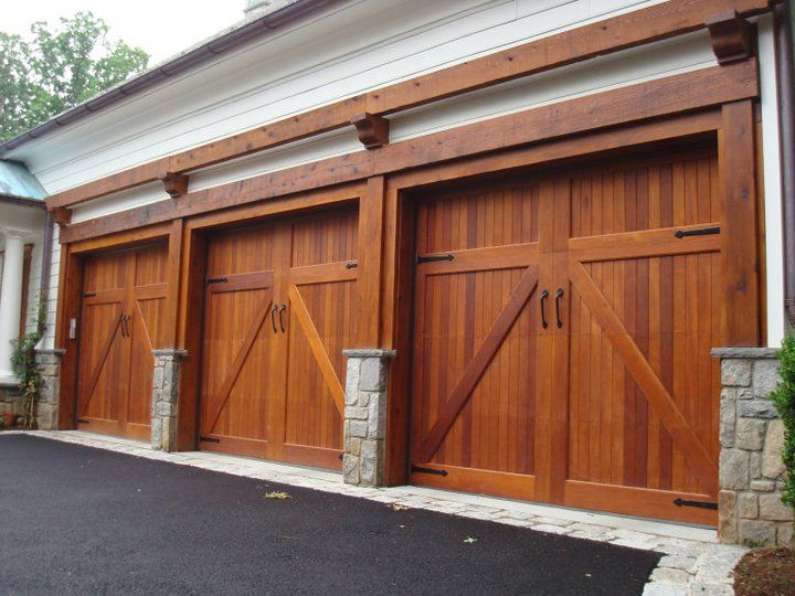 Residential Wood Garage Doors Round Rock TX