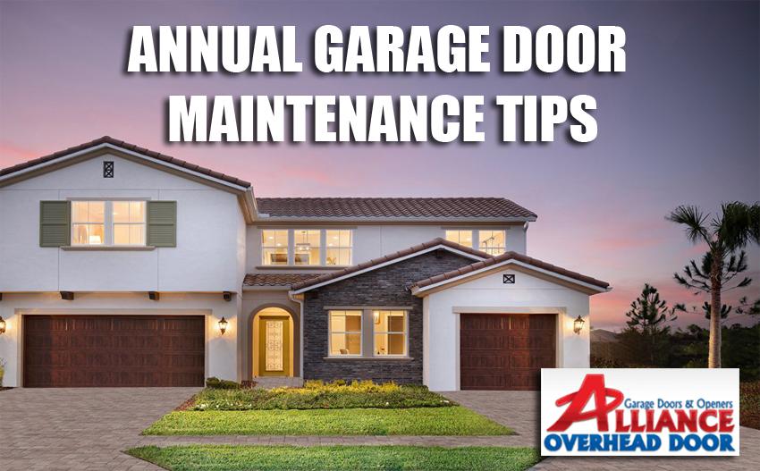 Annual Garage Door Maintenance Austin