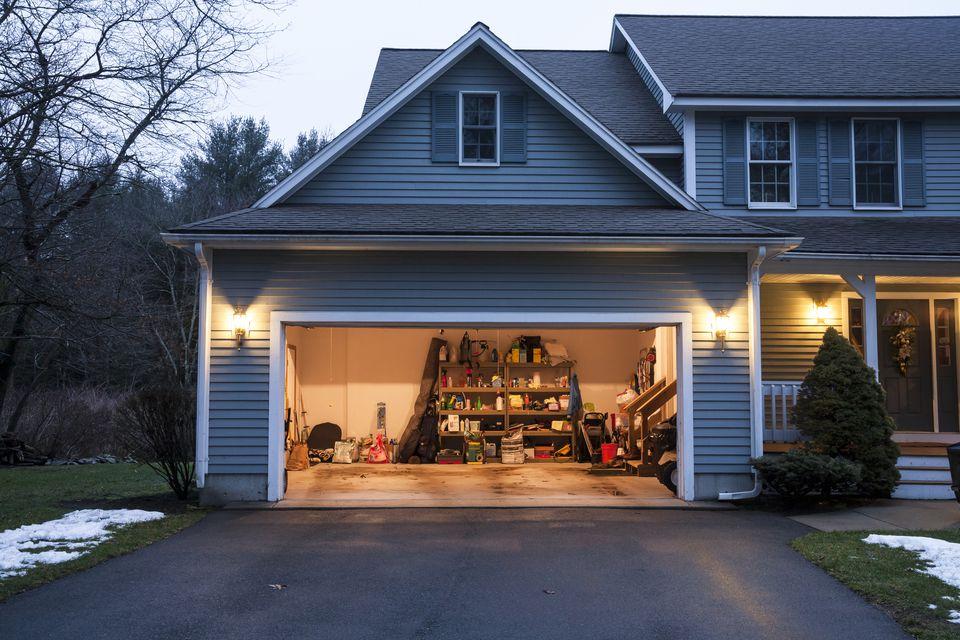 Residential security garage opener
