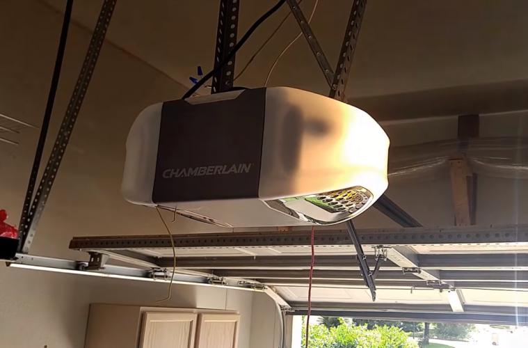 low noise belt garage opener