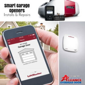 smart garage door opener repair