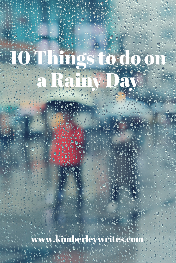 10 Things to do on rainy day