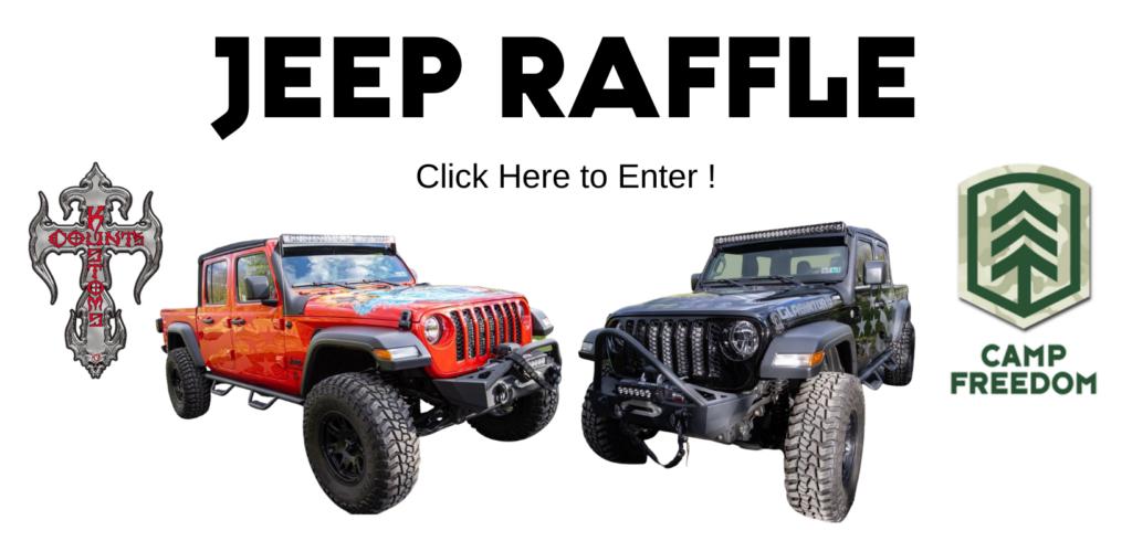 jeep raffle button