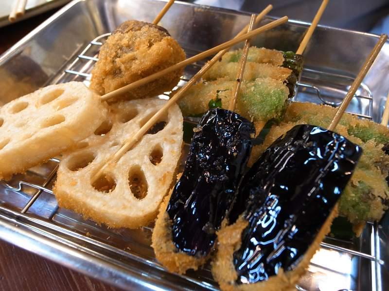 Osaka Street Food Kushikatsu