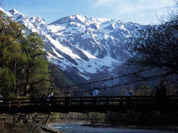 Kamikouchi valley hiking