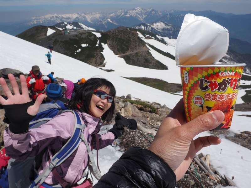 Hiking fun on Mt. Norikura