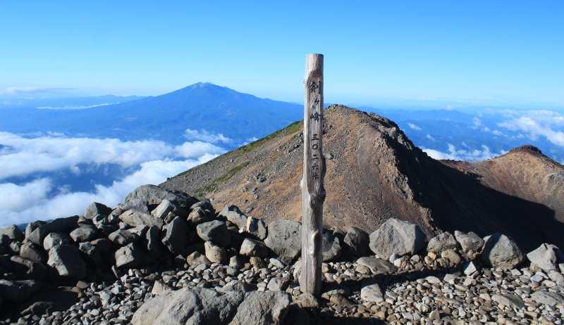 Top of Mt. Norikura