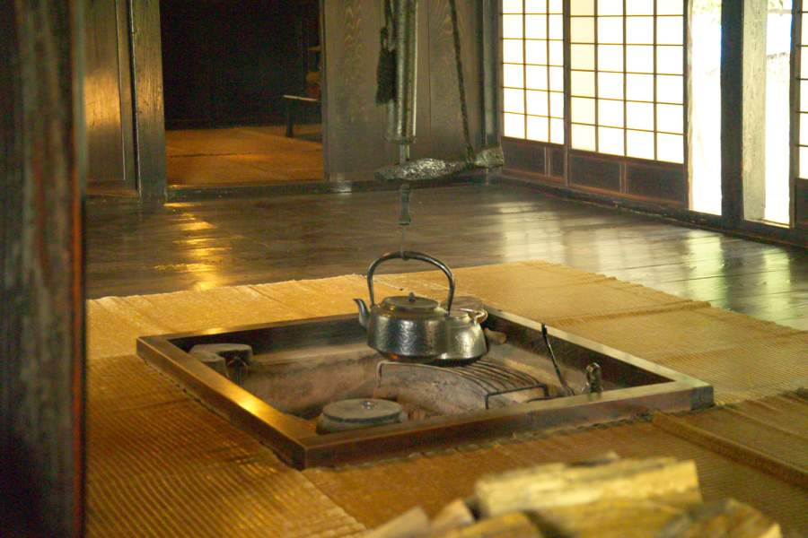 Japanese Traditional Home Hearth