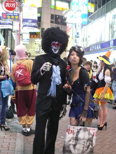 Shibuya Halloween costumes