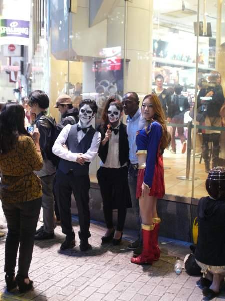 Shibuya Halloween party costumes