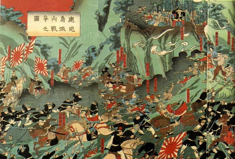 Last Samurai - battle of Shiroyama