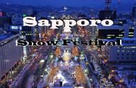 Sapporo Snow Festival is a winter wonderland
