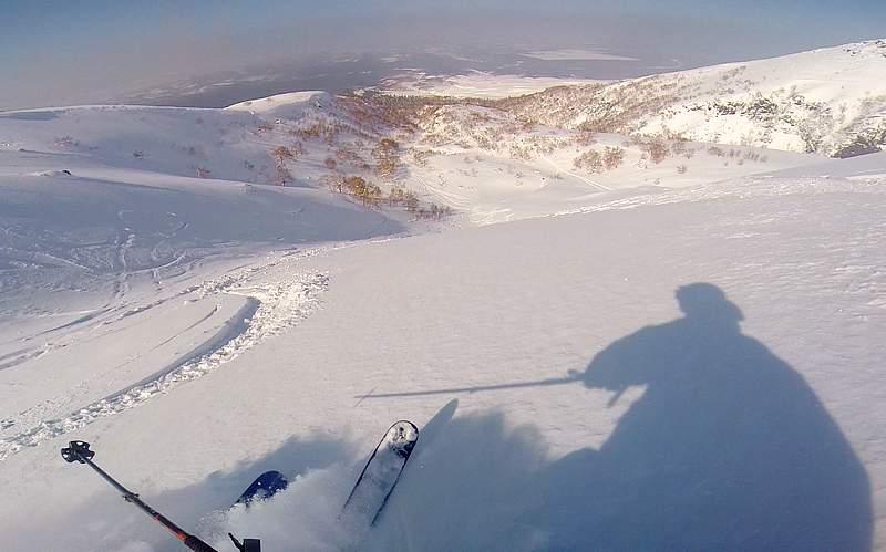 Ski Hokkaido powder
