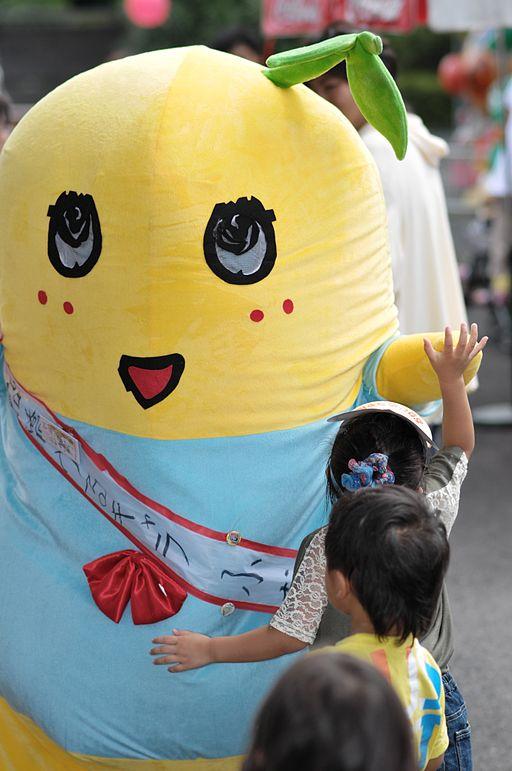 Japan mascot Funasshi