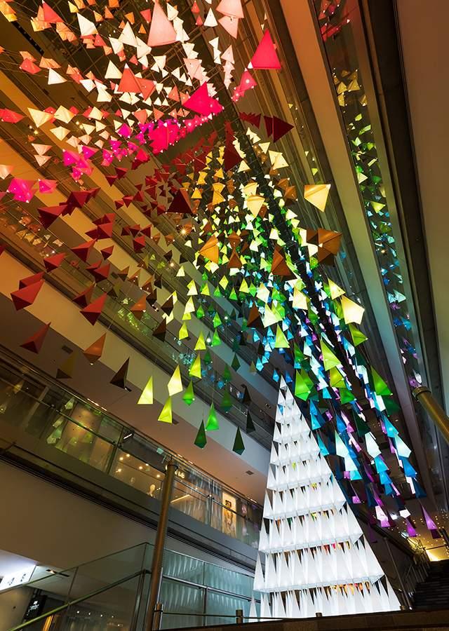 Tokyo Christmas Lights Omotesando Hills