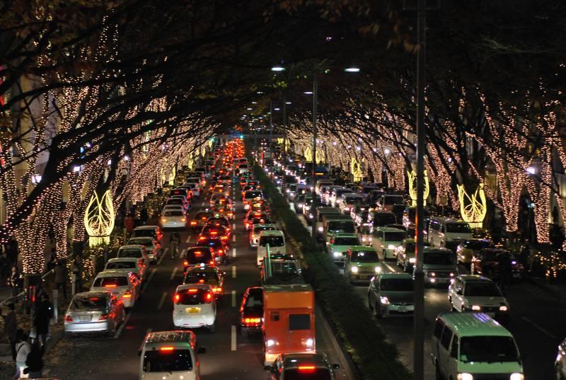 Tokyo Omotesando Winter Illumination