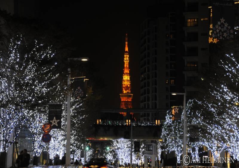 Tokyo Roppongi Winter Illumination