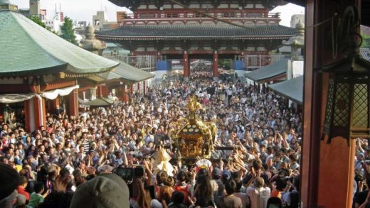 Asakusa shrine - Sanja Matsuri mikoshi