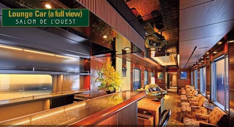 Twilight Express train lounge