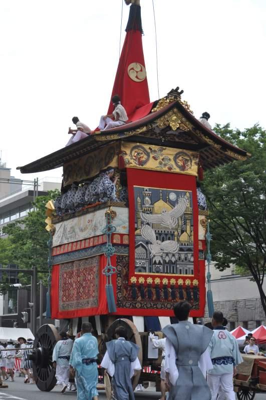 Gion Matsuri Traditional Float