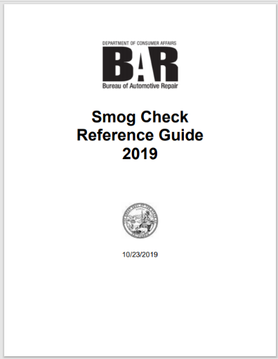 Smog Check Reference Guide Version 3.0