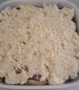 Biscuit topping