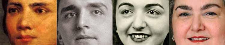FOUR GENERATIONS OF BUONGIORNO/TROISI FAMILY MEMBERS, Left to Right: 1. Maria Michela Buongiorno Troisi (1854–1906), mother of 2. Domenic Troisi (1894–1973), father of 3. Marguerite L. Troisi Carapellucci (1926–2007), mother of 4. Janice Carapellucci